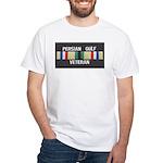 Persian Gulf Veteran White T-Shirt