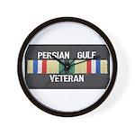 Persian Gulf Veteran Wall Clock