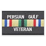 Persian Gulf Veteran Rectangle Sticker