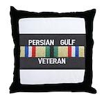 Persian Gulf Veteran Throw Pillow