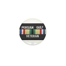 Persian Gulf Veteran Mini Button (10 pack)