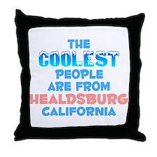 Coolest: Healdsburg, CA Throw Pillow