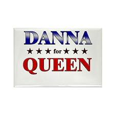 DANNA for queen Rectangle Magnet