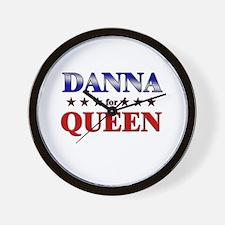 DANNA for queen Wall Clock