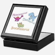 Mom, Dad & Bryceosaurus Keepsake Box
