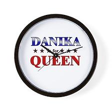 DANIKA for queen Wall Clock