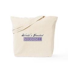 World's Greatest Nonni Tote Bag