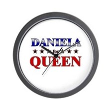 DANIELA for queen Wall Clock