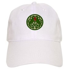 Christmas Lovebirds Baseball Cap