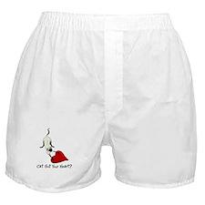 Cat Got Your Heart Boxer Shorts