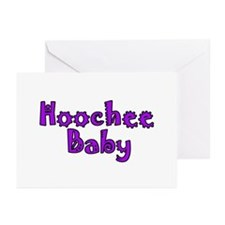 Hoochie Baby Greeting Cards (Pk of 10)