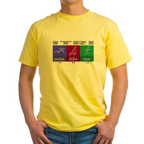 I tri Yellow T-Shirt