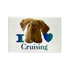 I Heart ( Love ) Cruising Rectangle Magnet