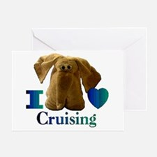 I Heart ( Love ) Cruising Greeting Card