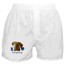 I Heart ( Love ) Cruising  Boxer Shorts