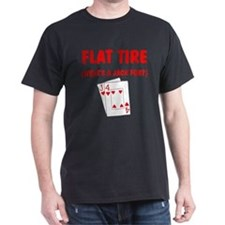 """""""Flat Tire"""" T-Shirt"""