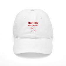 """""""Flat Tire"""" Baseball Cap"""