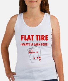 """Flat Tire"" Women's Tank Top"