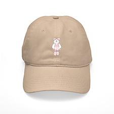 PINK BALLERINA BEAR Baseball Cap