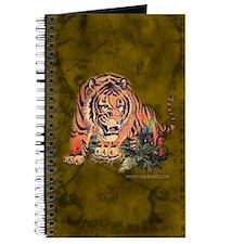 Tiger Drawing Journal