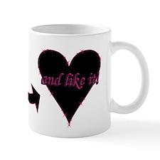 """""""love Bites ..."""" Mug"""