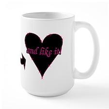 """""""Love Bites ..."""" Mug (Tall)"""