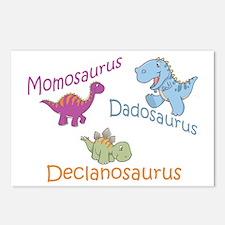 Mom, Dad & Declanosaurus Postcards (Package of 8)
