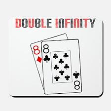 """""""Double Infinity"""" Mousepad"""