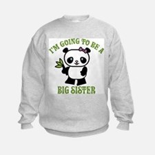 I'm Going To Be A Big Sister Sweatshirt