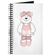 PINK BALLERINA BEAR Journal
