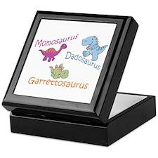 Mom, Dad & Garrettosaurus Keepsake Box