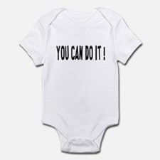 You Can Do It Infant Bodysuit