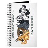 Blue great dane Journals & Spiral Notebooks