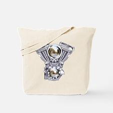 V-twin Engine Art Tote Bag