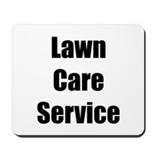Lawn Care Service Mousepad