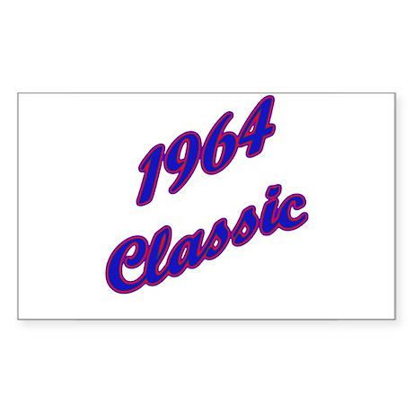 1964 classic Rectangle Sticker