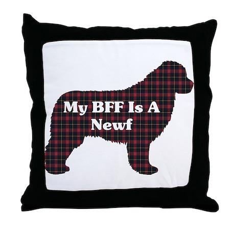 BFF Newfoundland Throw Pillow
