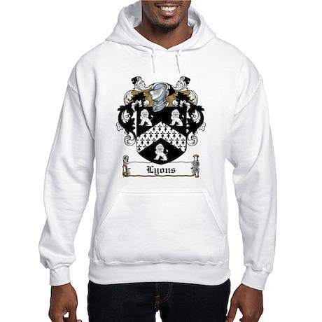 Lyons Family Crest Hooded Sweatshirt