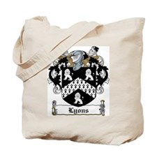 Lyons Family Crest Tote Bag