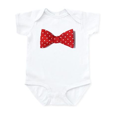 Red bowtie Infant Bodysuit