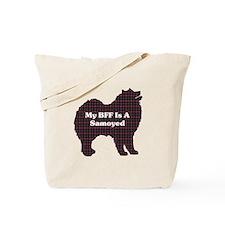 BFF Samoyed Tote Bag