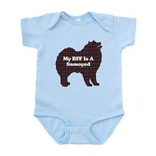 BFF Samoyed Infant Bodysuit
