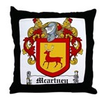Macartney Family Crest Throw Pillow