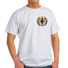 SAR COMM Round Logo T-Shirt