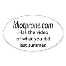 Summer Oval Decal
