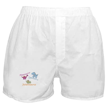 Mom, Dad & Julianosaurus Boxer Shorts