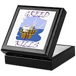 Greed Kills Keepsake Box