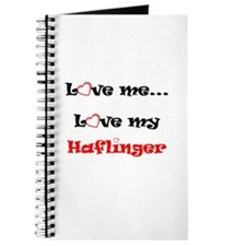 Love my Haflinger Journal