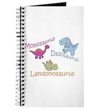 Mom, Dad & Landonosaurus Journal