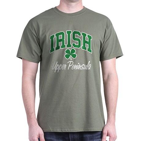 Upper Peninsula Irish Dark T-Shirt